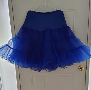 Royal Blue Crinoline / Underskirt